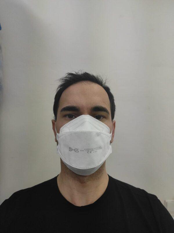 DNA FFP2 NR pic face front