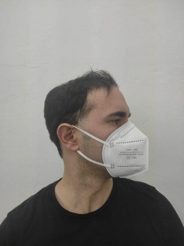 Face photo(left) of Zhishan FFP2 6pack