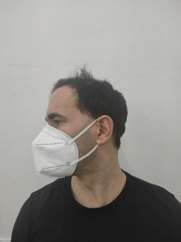 Face photo(right) of Zhishan FFP2 6pack