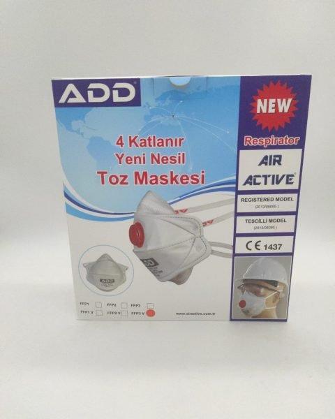 Balení respirátoru ADD Air Active 5100 FFP3 V NR