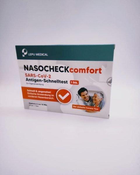 Jedno balení testu Lepu Medical Nasocheck comfort